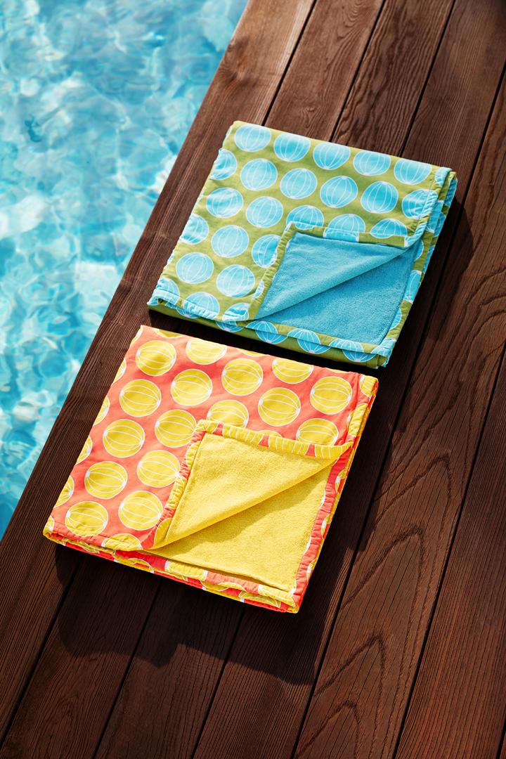 kikoy, serviette de plage, serviette eponge, serviette de bain