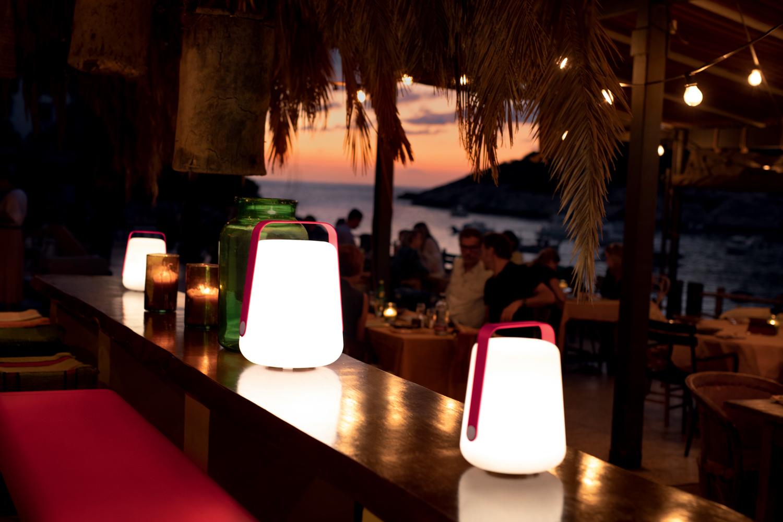 lampe nomade, lampe sans fil, lampe baladeuse, fermob