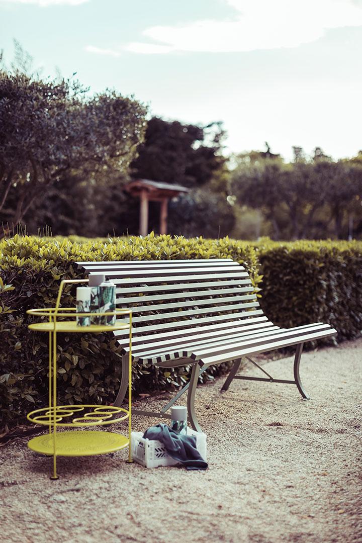 banc metal, banc de jardin, banc terrasse, banc d exterieur