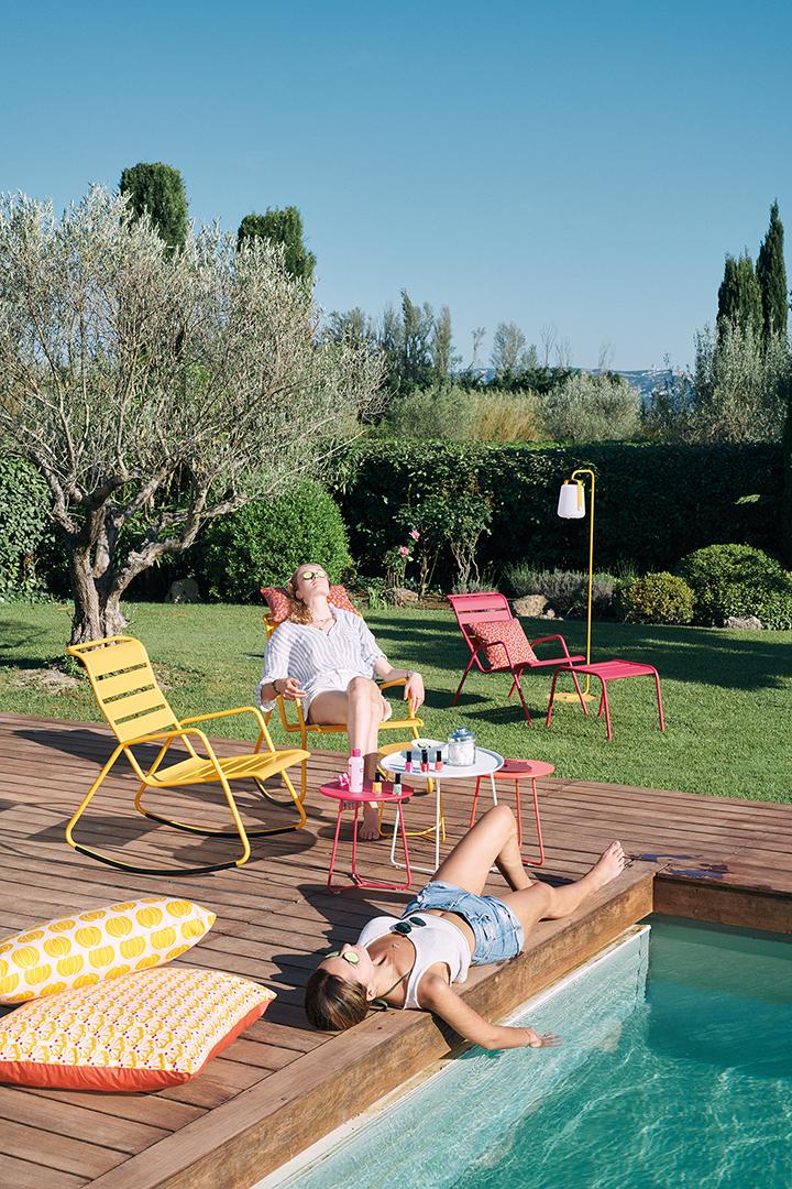 fauteuil de jardin, fauteuil metal, salon de jardin metal, salon de jardin