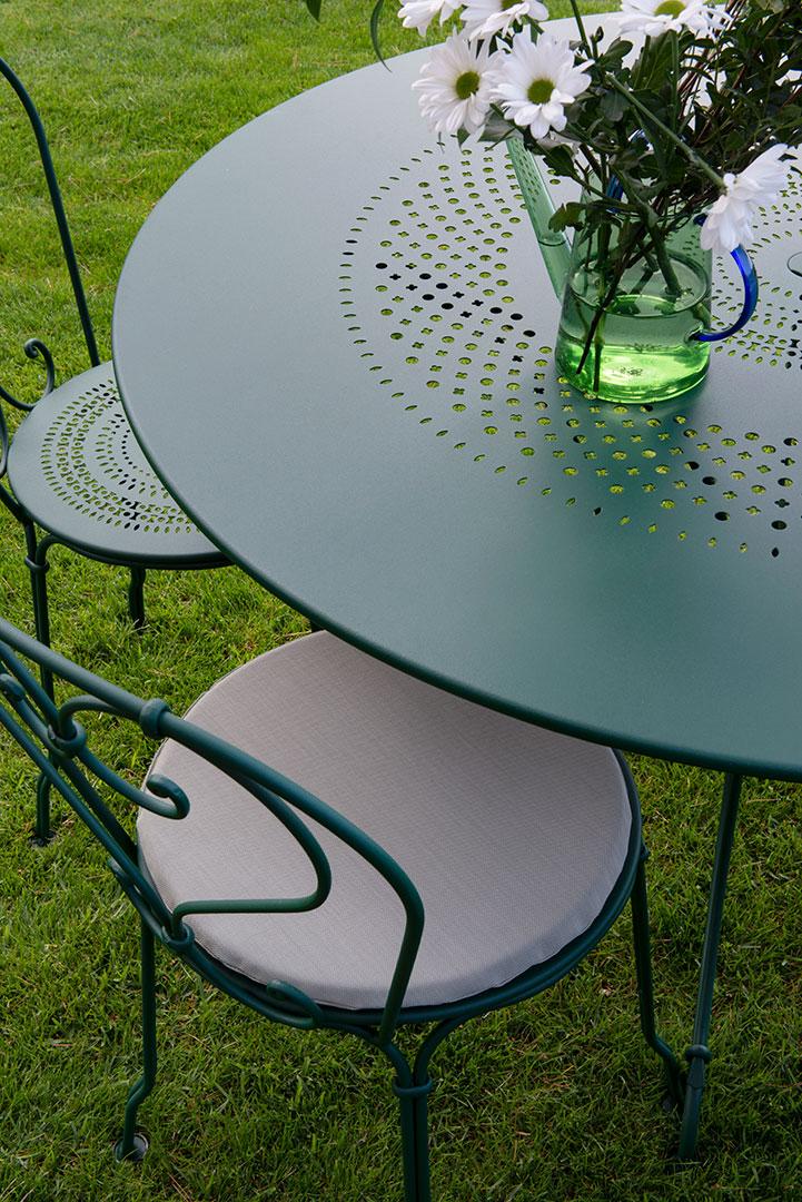 table metal, table de jardin, chaise metal, chaise de jardin, mobilier de jardin, ensemble table chaise, fermob