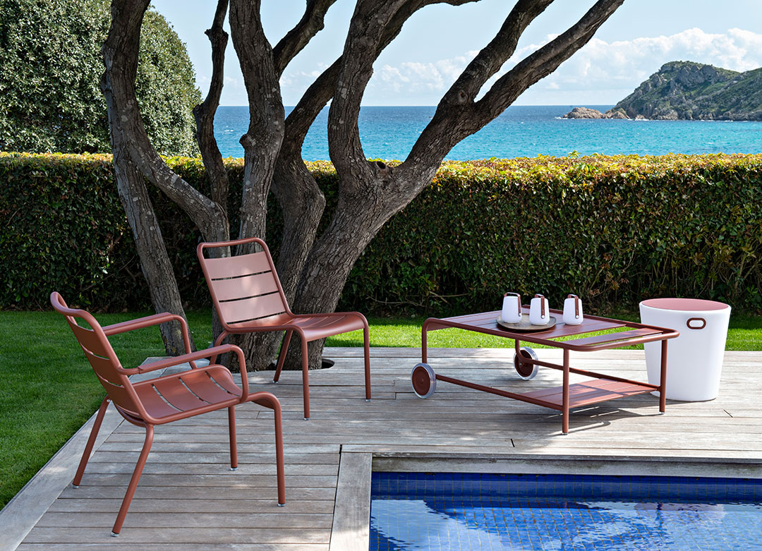salon de jardin, fauteuil luxembourg, fauteuil de jardin, fauteuil metal, mobilier de jardin en metal