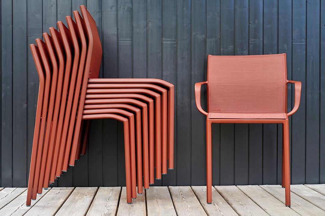 chaise de jardin, chaise en toile, chaise de jardin design, bridge de jardin, bridge en toile