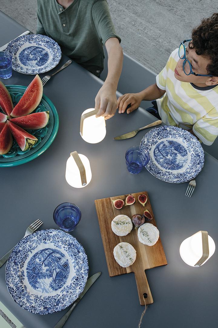 lampe nomade, lampe sans fil, lampe outdoor, lampe baladeuse, bamboo, bambou