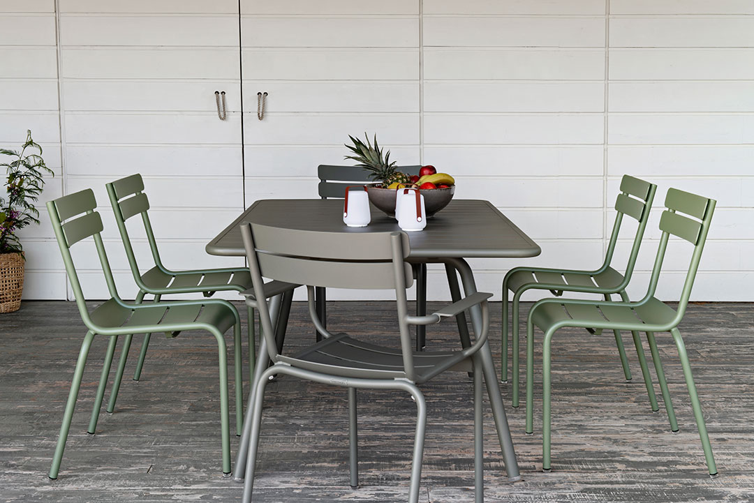 mobilier de jardin, table metal, chaise metal, chaise luxembourg, mobilier fermob, mobilier terrasse, outdoor furniture, metal chair, metal table