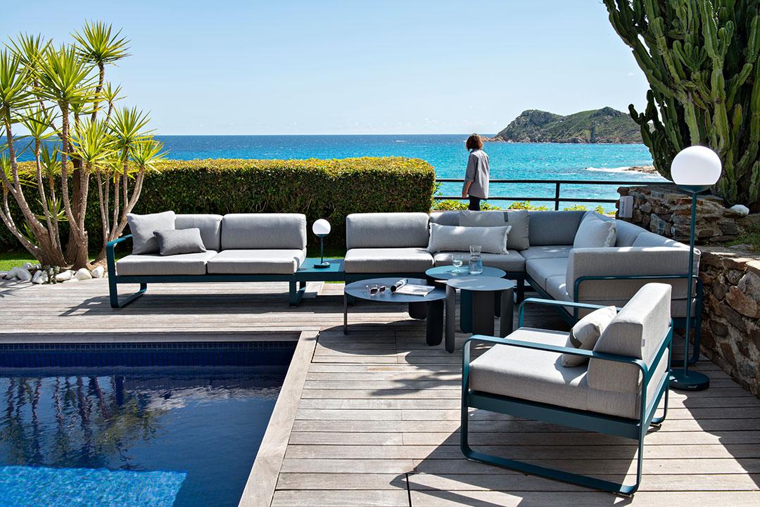 canapé de jardin, salon de jardin, ensemble salon de jardin, outdoor furniture, outdoor sofa