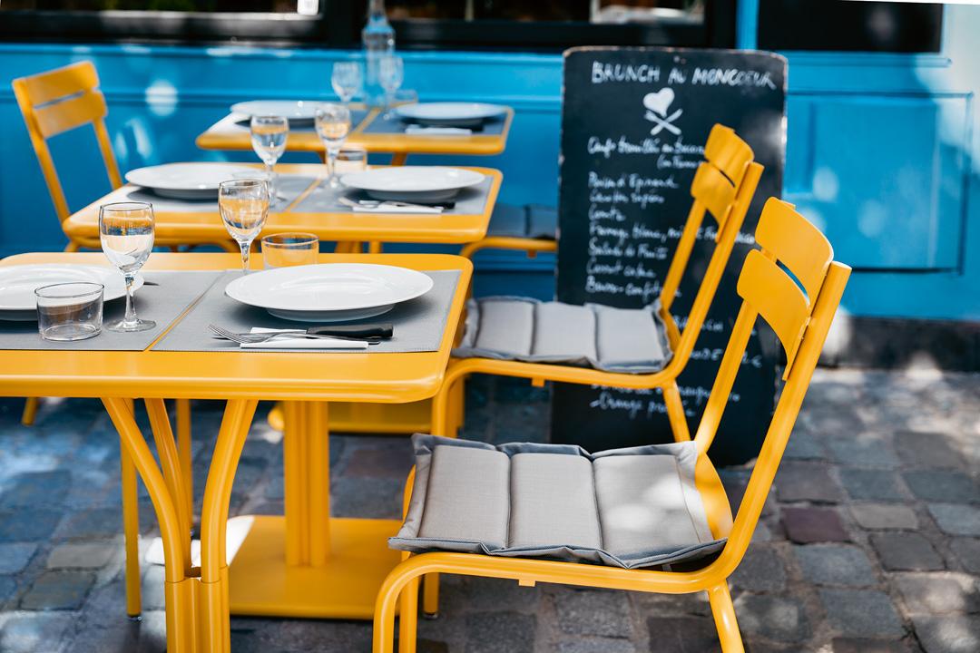galette chaise restaurant, galette de chaise