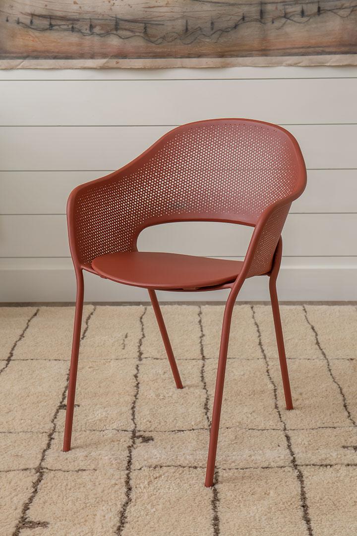 fauteuil metal, fauteuil repas, fauteuil design, chaise metal