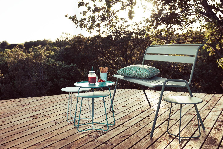 banc metal, banc de jardin, banc terrasse, mobilier de jardin, mobilier metal