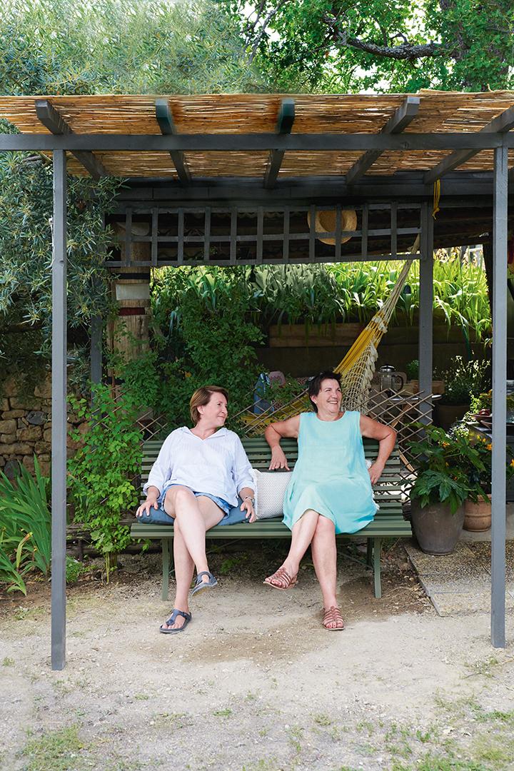 banc de jardin, banc metal, banc terrasse