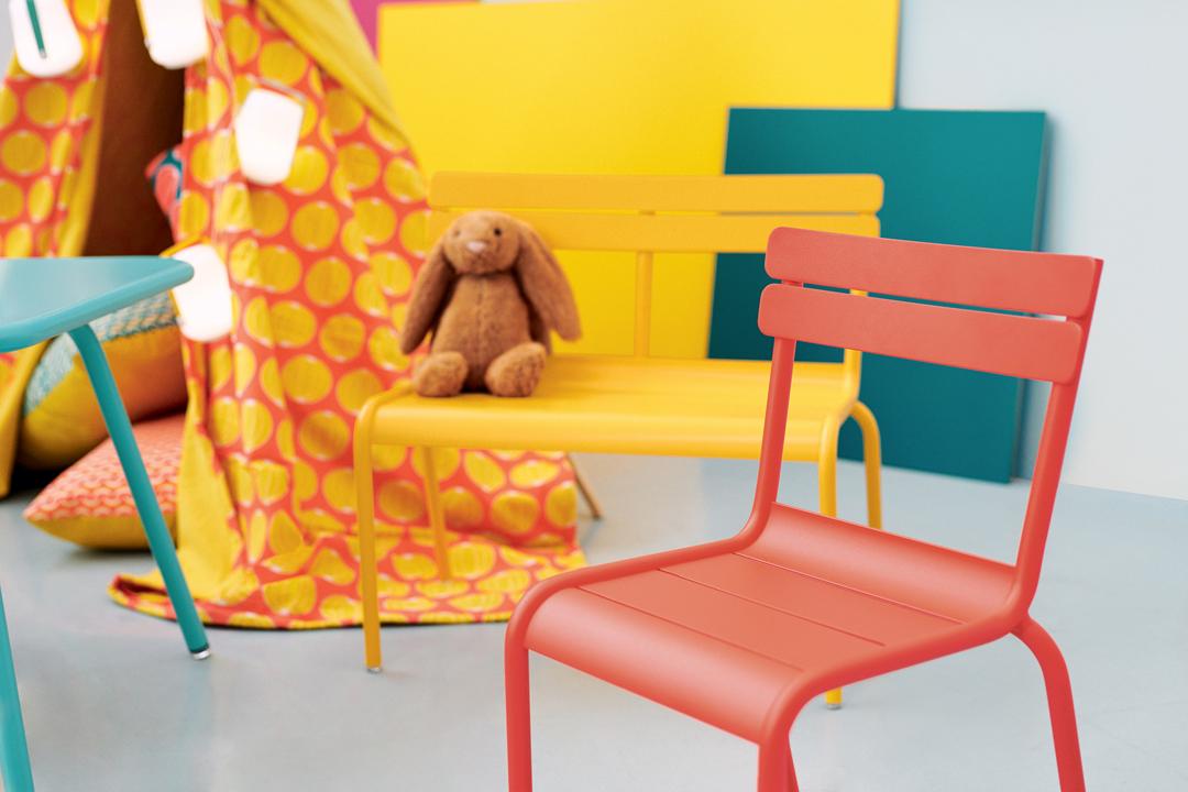 chaise de jardin pour enfant, mobilier de jardin enfant, chaise enfant, mobilier enfant