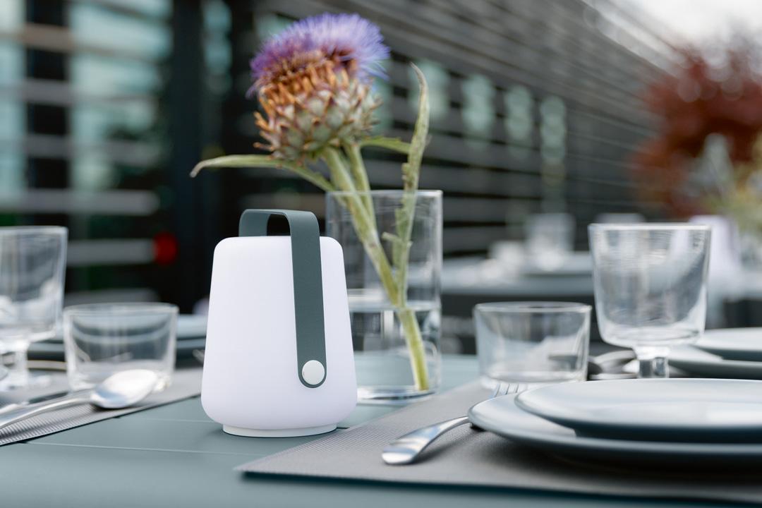 mini balad, lampe table restaurant, petite lampe sans fil