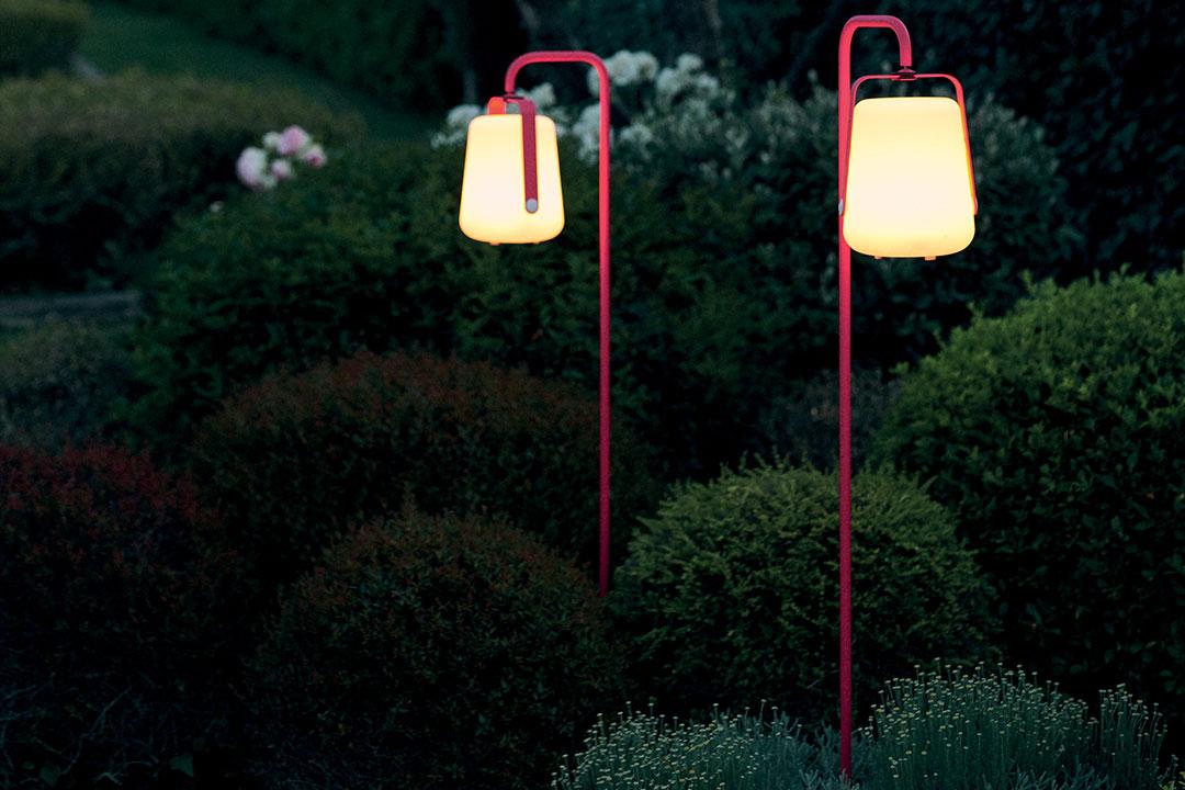 pied balad, pied lampe fermob, lampe de jardin, balad, lampe fermob