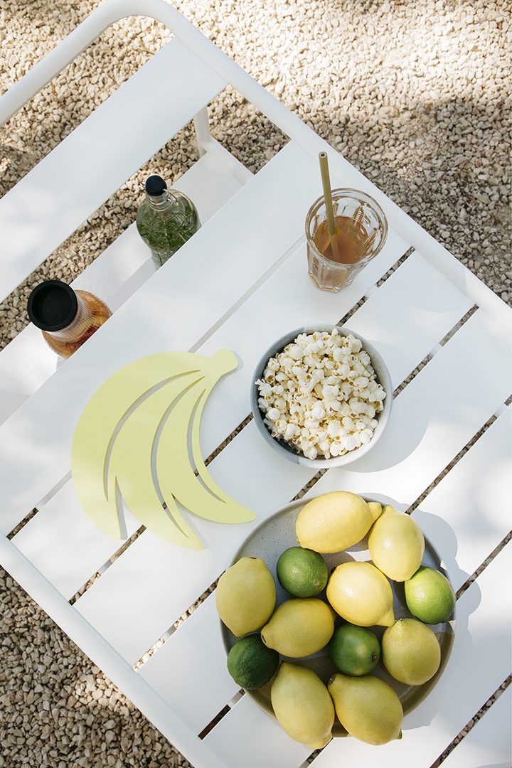 Table basse à roues, table basse outdoor, exterieur, jardin, mobilier, dessous de plat, déco, accessoires