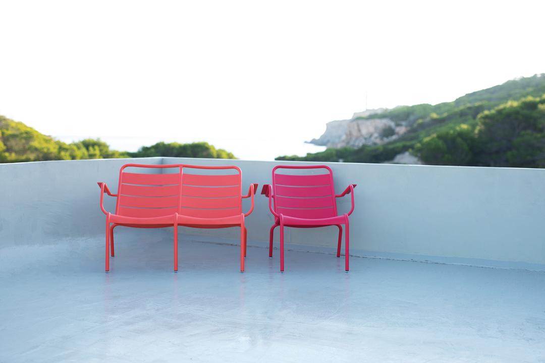 fauteuil de jardin, fauteuil metal, salon de jardin