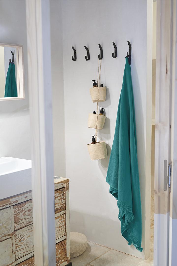 fouta, serviette de bain, serviette de plage, serviette éponge, serviette fermob