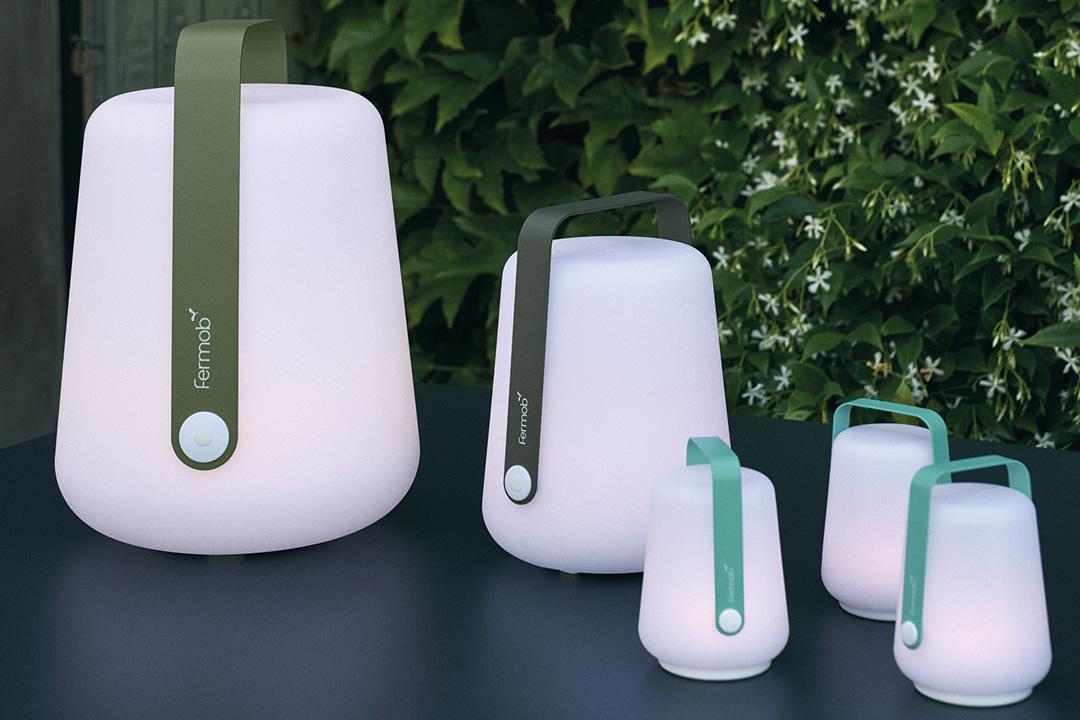lampe nomade, lampe sans fil, lampe outdoor, lampe baladeuse