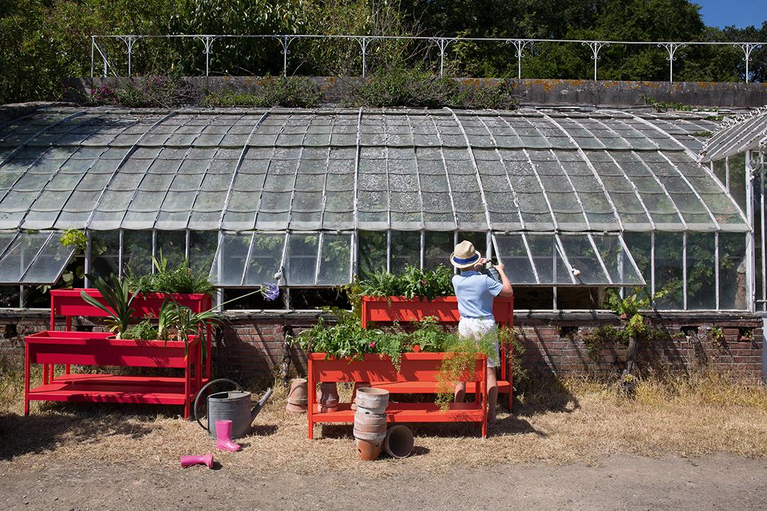 jardiniere metal