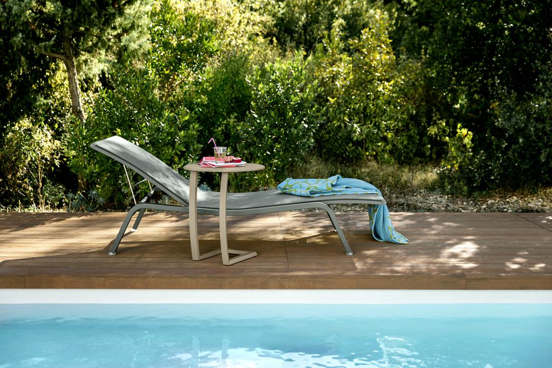 bain de soleil fermob, table basse alize, fermob, bain de soleil