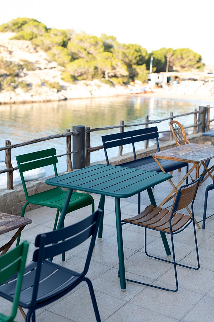 chaise metal, table de jardin, table metal, chaise de jardin, mobilier terrasse