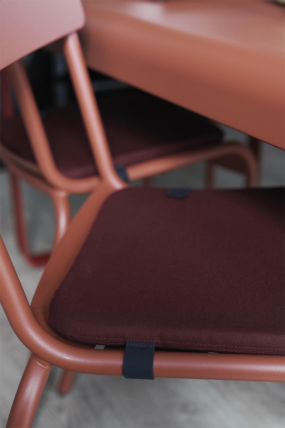 galette de chaise, chaise de chaise fermob, galette chaise de jardin