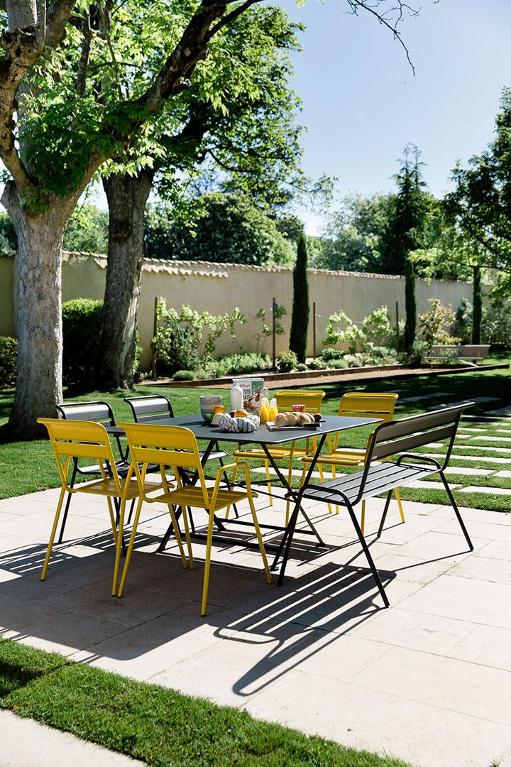 table metal, chaise metal, table pliante, chaise de jardin, table metal carree, mobilier de jardin