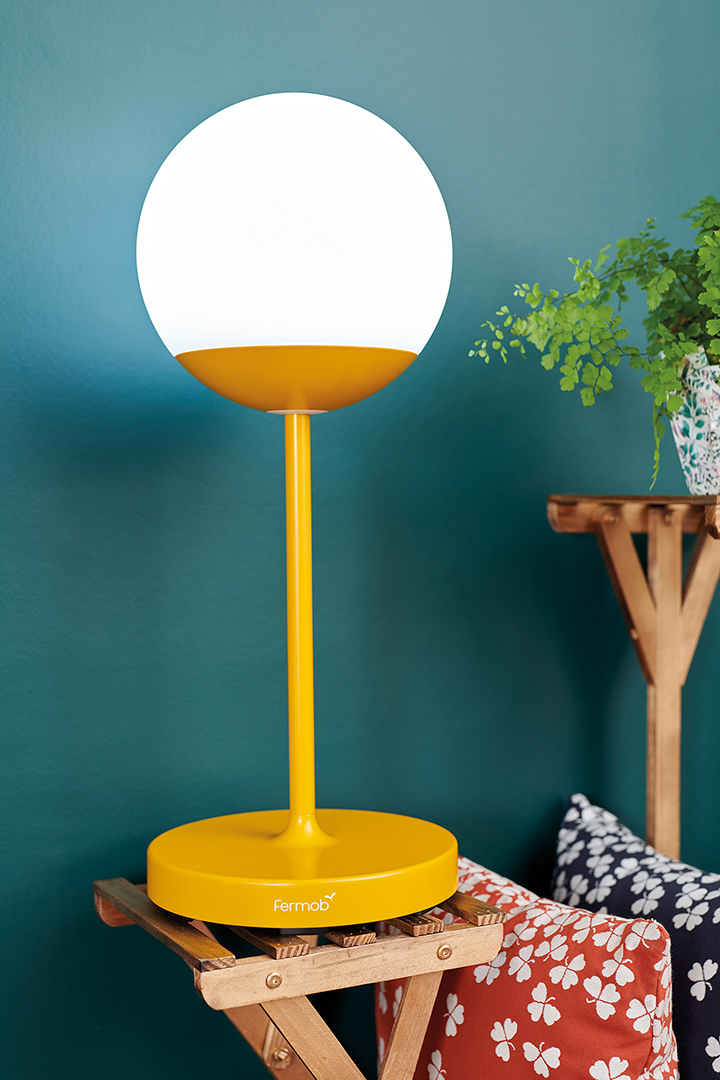 lampe sans fil, lampe nomade, lampe bluetooth, lampe a poser