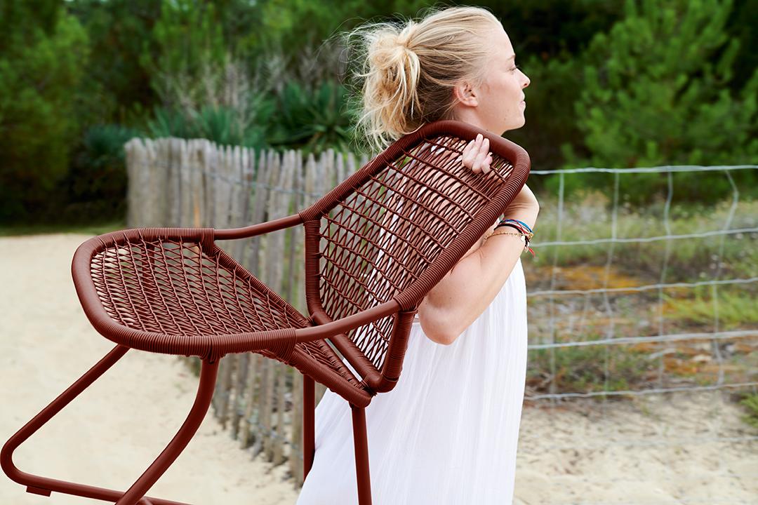 salon de jardin, fauteuil de jardin, fauteuil terrasse, fauteuil fil