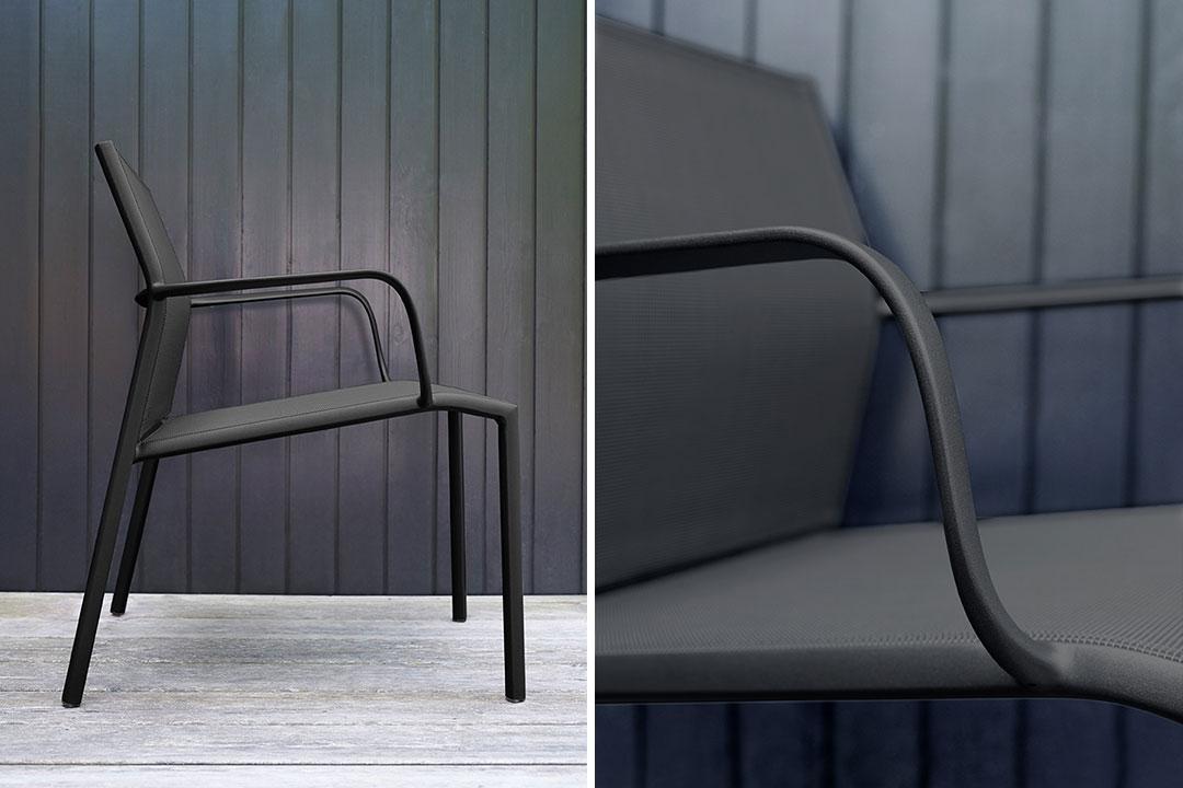 chaise fermob, chaise de jardin, chaise en toile, bridge fermob, mobilier de jardin fermob