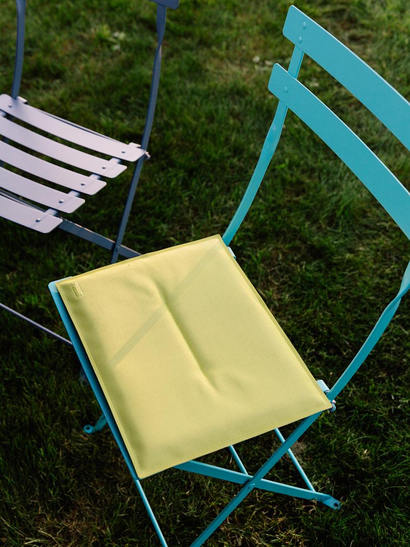 galette chaise bistro, galette de chaise, galette chaise fermob