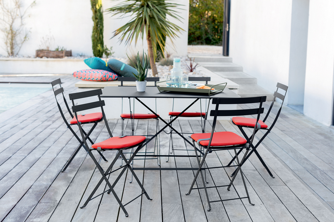 galette bistro, galette de chaise, galette chaise fermob, galette chaise bistro