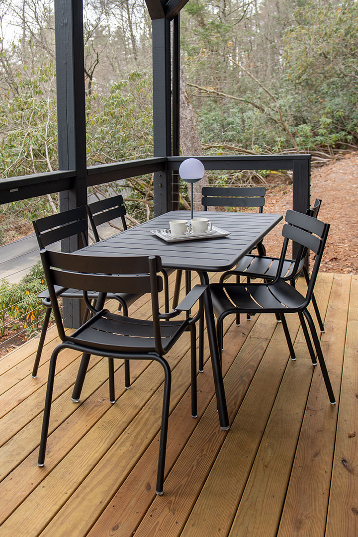 table de jardin, chaise de jardin, table metal, chaise metal, chaise fermob, table 6 personnes