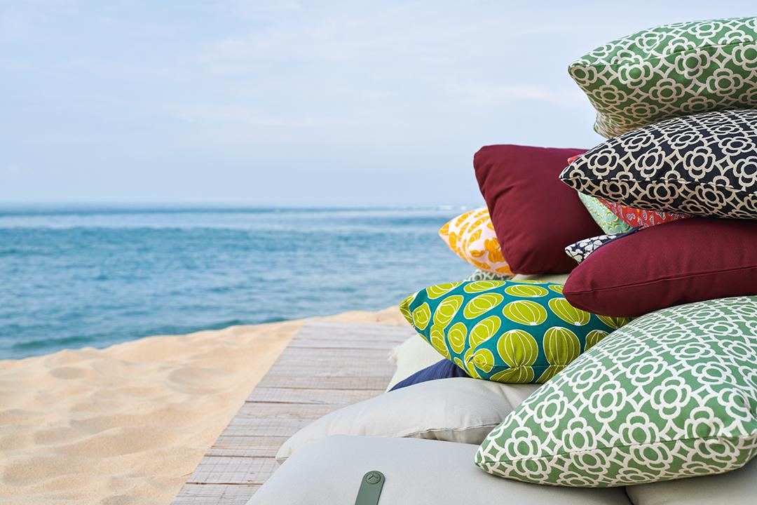 coussin de jardin, coussin deco terrasse, outdoor cushion