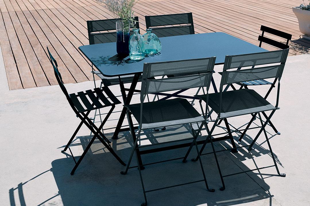 table metal, chaise metal, table pliante, chaise de jardin, mobilier de jardin