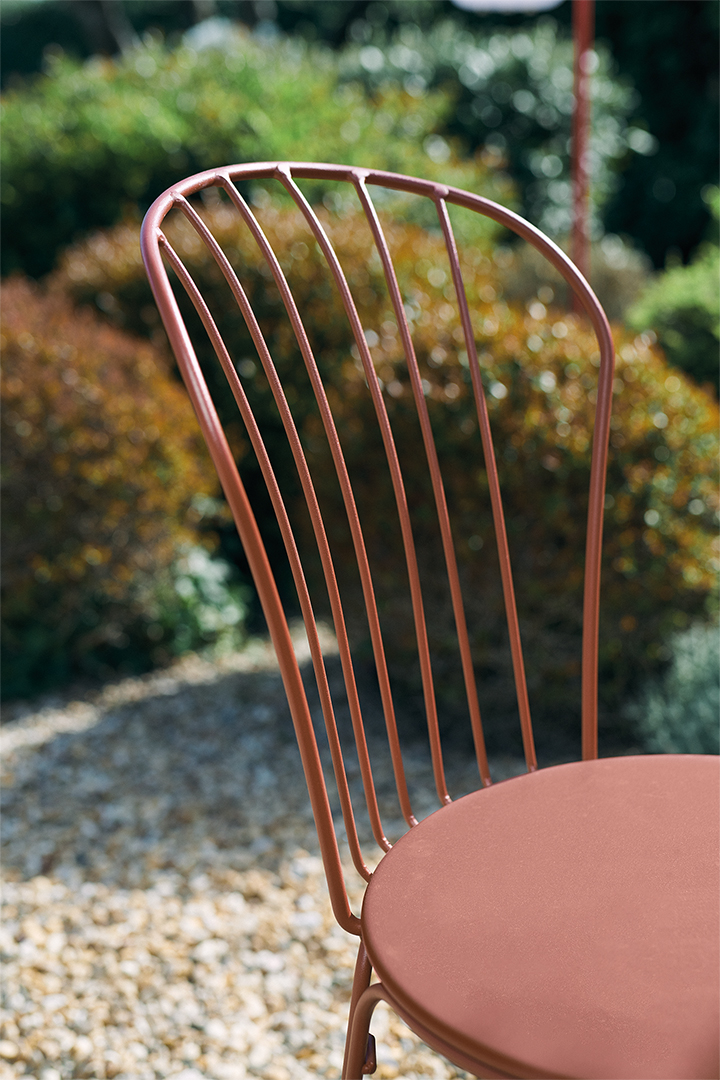 chaise metal, chaise terrasse, chaise de jardin, mobilier metal