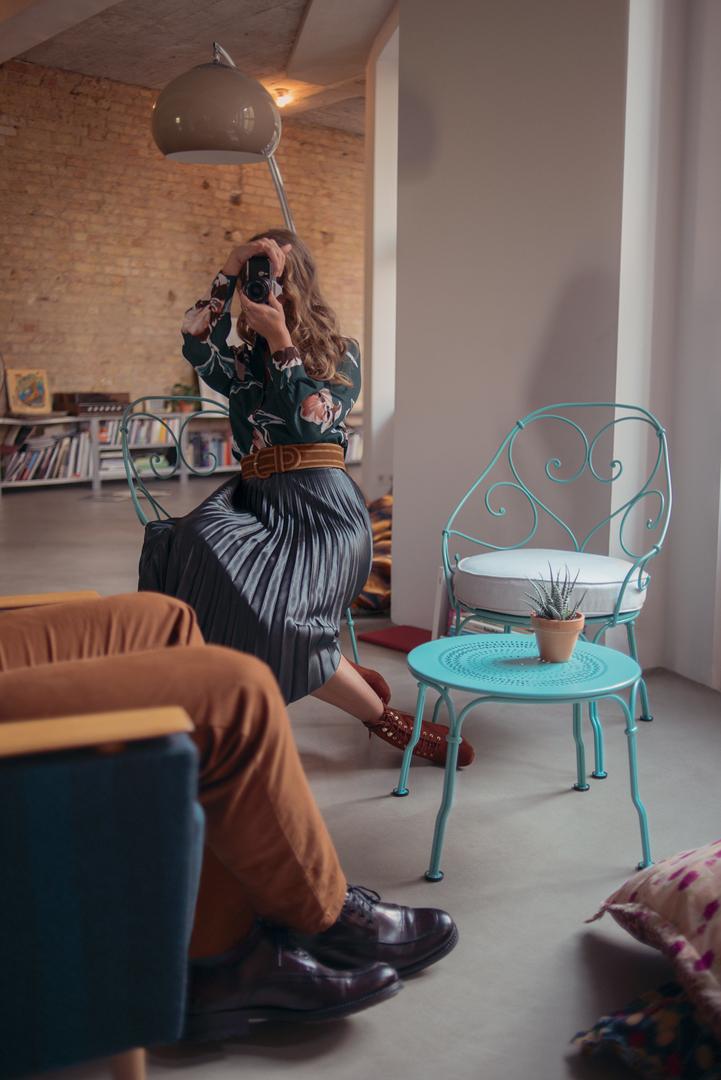 table basse metal, fauteuil de jardin, fauteuil romantique, petite table basse
