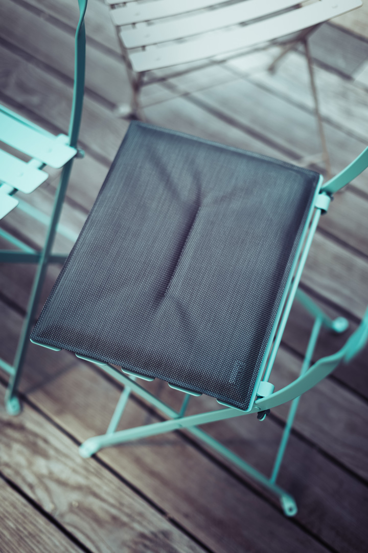 galette de chaise, galette chaise bistro, galette de chaise fermob