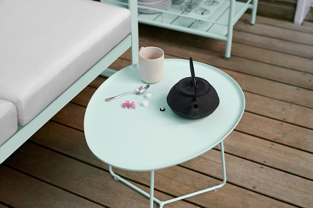table basse metal, petite table basse metal, table basse jardin, bout de canape