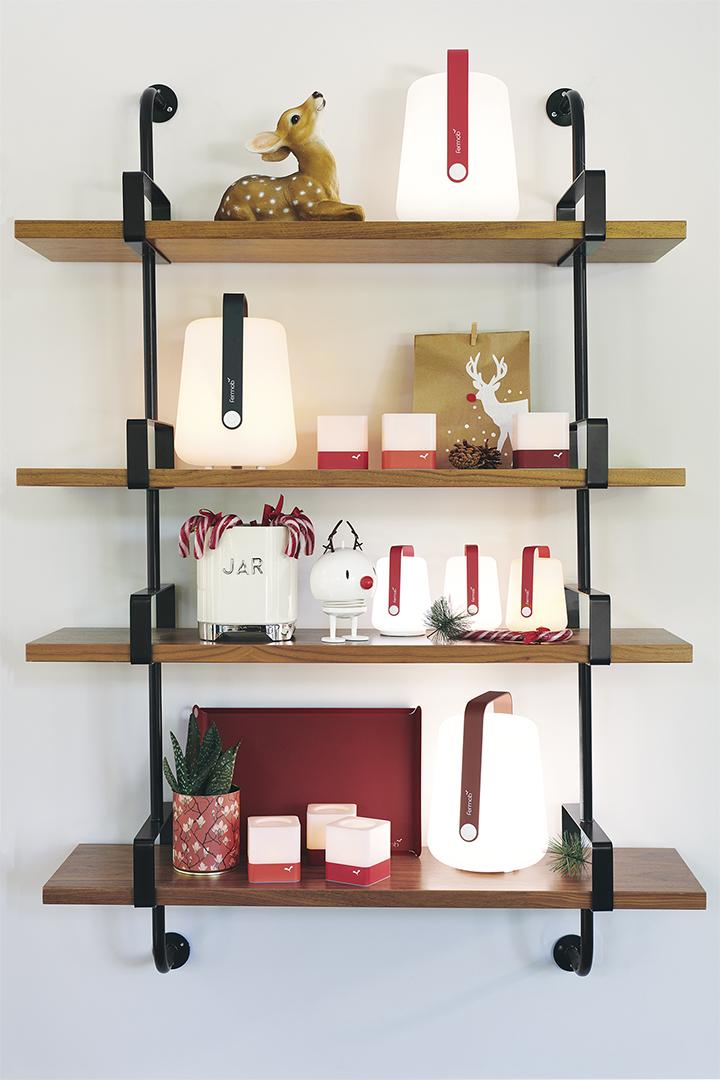 lampe sans fil, photophore, luminaire fermob, fermob lamp, cadeau noel, idée cadeau