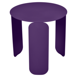 table basse design, table basse metal, table basse fermob, table basse violet