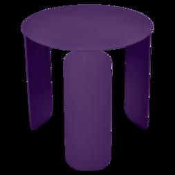 table basse design, table basse metal, table basse fermob, table basse violet