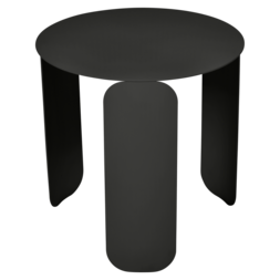 table basse design, table basse metal, table basse fermob, table basse noir