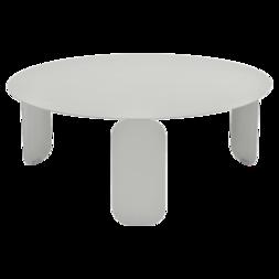 Niedriger Tisch Ø 60 cm - Fermob - Niedriger Tisch aus Metall