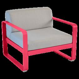 fauteuil de jardin avec coussins, fauteuil de jardin fermob, fauteuil de jardin rose