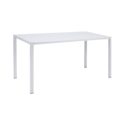 table design, table putman, table de jardin, table metal, table blanche
