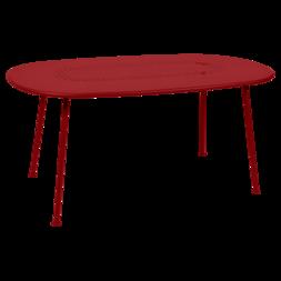 Table ovale Lorette piment