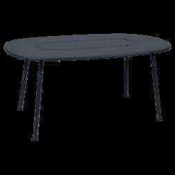 Table Ovale Lorette  carbone