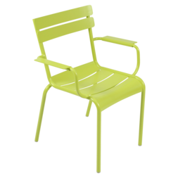 fauteuil de terrasse vert