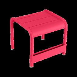 petite table basse, table basse metal, repose pied, table basse fermob, table basse rose