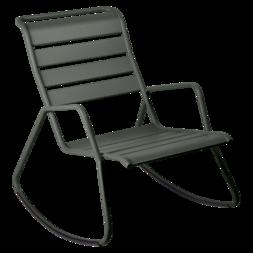 rocking chair metal, rocking chair fermob, rocking chair jardin, rocking chair vert